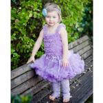 фиолетовая юбочка