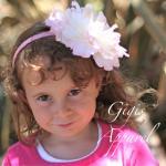 Ободок Gigis розовый