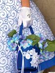 сумка детская синяя