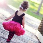 пышная юбка малиновая