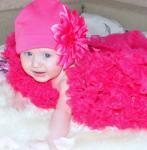 Шапка Sorbet Ярко-Розовая